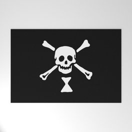 Emanuel Wynne Pirate Flag Jolly Roger Welcome Mat