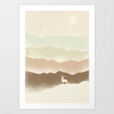 Quietude (II) Art Print
