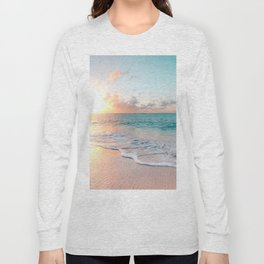 Pink Sea Long Sleeve T-shirt