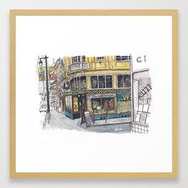 Vesuvio, San Francisco Framed Art Print