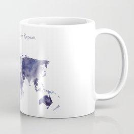 Work. Travel. Love. Repeat Coffee Mug