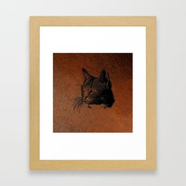 Cat20170501_by_JAMColorsSpecial Framed Art Print