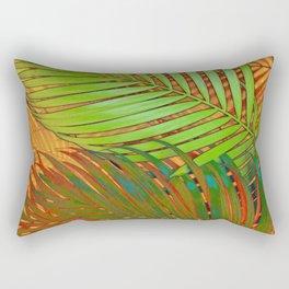 TROPICAL LEAVES POP-ART no5 Rectangular Pillow