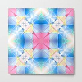 Celestial Kaleidoscope Metal Print