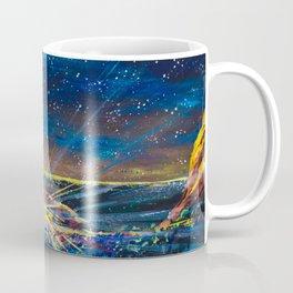Concert at Red Rocks Painting  Coffee Mug