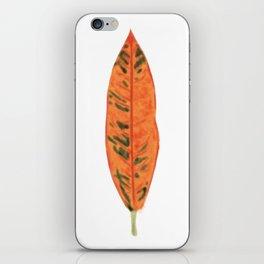 Falling for Petra iPhone Skin