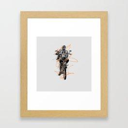 Slow Roll Part Deux Framed Art Print