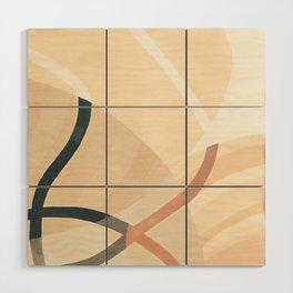 Converging Path Wood Wall Art