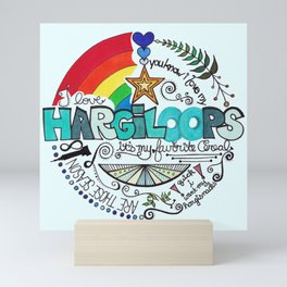 Hargiloops Mini Art Print