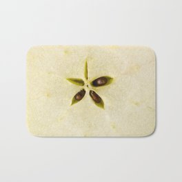A star of an apple Bath Mat