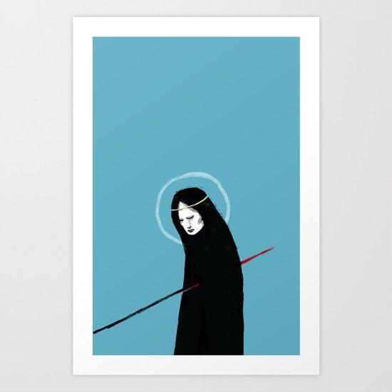 Halo & Goodbye Art Print