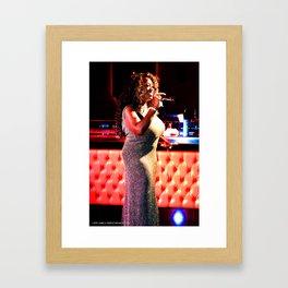 The Sparkling Keisha D Framed Art Print