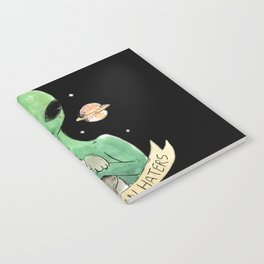 aliens and cats are human haters Notebook