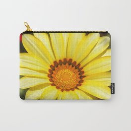 Yellow Sunny Spring Flower Gazania Carry-All Pouch