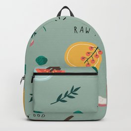Raw food Backpack