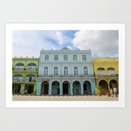 Slice of Havana Art Print