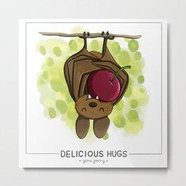 Delicious Hugs Metal Print