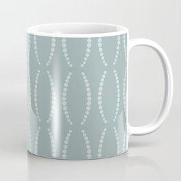 Beads in Dusty Teal Coffee Mug