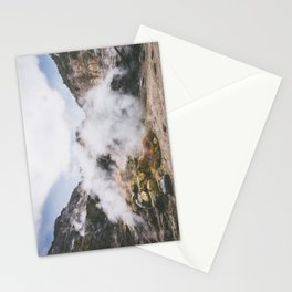 Volcano, Italy Stationery Cards