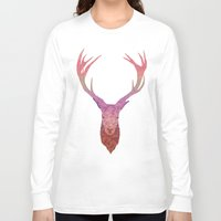 stag Long Sleeve T-shirts featuring Stag by Toniq