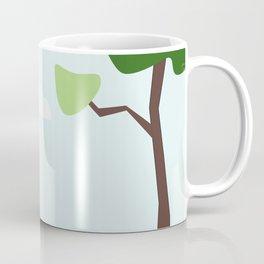 giraffe safari steppe africa Coffee Mug