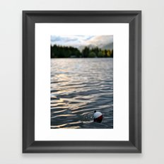 Fishin'  Framed Art Print