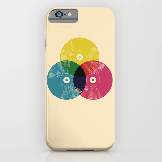 Music is the colors of life iPhone & iPod Case