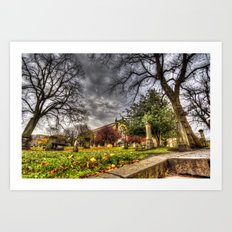 Greyfriars Kirk Church Edinburgh Art Print