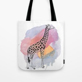 Judgemental Giraffe Tote Bag