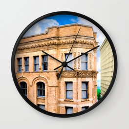 Historic Equitable Building - Vintage Atlanta Architecture Wall Clock