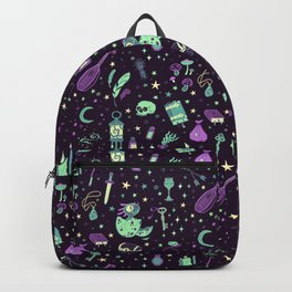 Magical Miscellanea Pattern Backpack