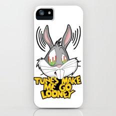 Tunes make me go looney  Slim Case iPhone (5, 5s)