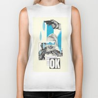 kim sy ok Biker Tanks featuring OK by collageriittard
