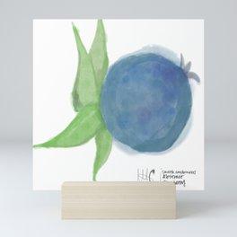 I've Got the Blues • Rustic Blueberry Mini Art Print