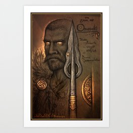 The Hunters Spear Art Print