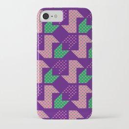 Clover&Nessie_Lavender&Mauve iPhone Case