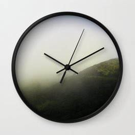 Trees going to sleep. Wall Clock