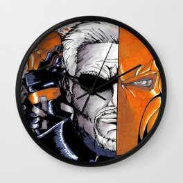 Deathstroke the Terminator Wall Clock