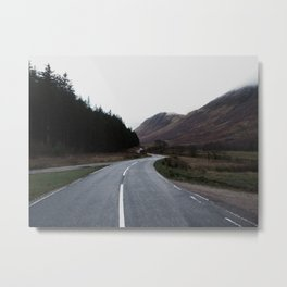 Road through the Glen Metal Print