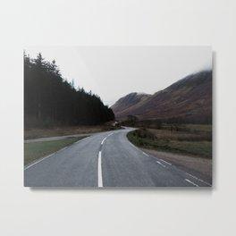 Road through the Glen Metal Print
