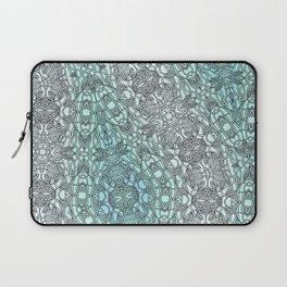 Teal Washout Laptop Sleeve