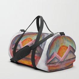 Geometric landscapes 02 Duffle Bag