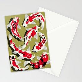 Koi Carp Zen Stationery Cards