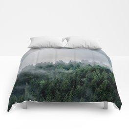 Foggy Woods 3 Comforters
