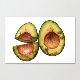 Rotting Avocados №1 Canvas Print