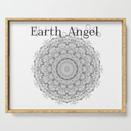 Earth Angel Serving Tray