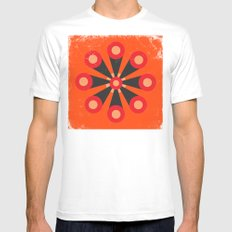Flower Extract Mens Fitted Tee White MEDIUM