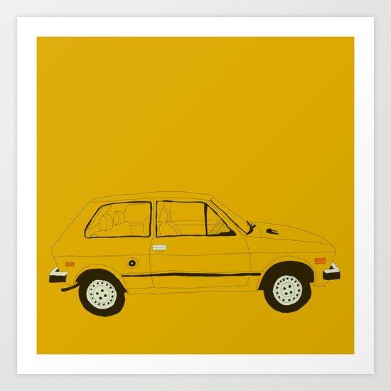 Yugo —The Worst Car in History Art Print