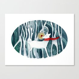 The Red Nose Reindeer Canvas Print