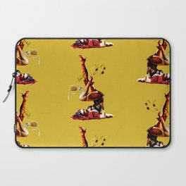 Zombie Pin Up Laptop Sleeve